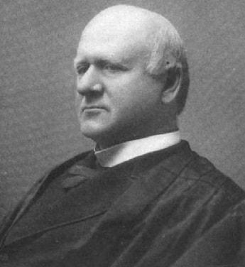Supreme Court Justice John Marshall Harlan