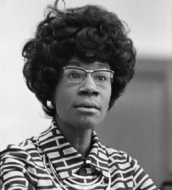 Photo of Shirley Chisholm